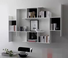 Amazing Modular Furniture For Small Spaces With Extraordinary Design And Style… Bookshelves For Small Spaces, Wall Bookshelves, Furniture For Small Spaces, Creative Bookshelves, Modular Furniture, Furniture Decor, Furniture Design, Bedroom Furniture, Furniture Stores