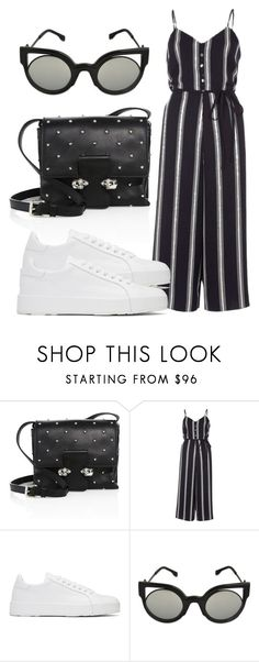 """""""Untitled #4414"""" by beatrizvilar on Polyvore featuring Alexander McQueen, River Island, Jil Sander and Fendi"""