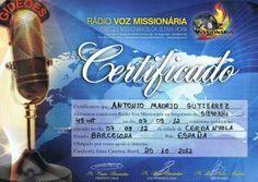 QSL La Voz Missionaria