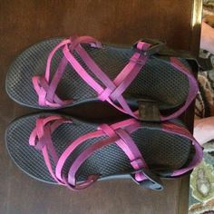 Women's Chacos size 7 These shoes have been worn before but overall great condition! No trades! Chacos Shoes Sandals