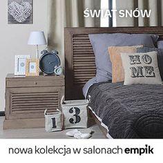 Przenieś się w świat pięknych snów z nową kolekcją Empiku! Dom, Sweet Home, Living Room, House Beautiful