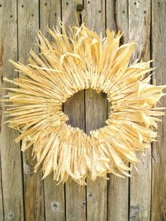 corn husk wreaths