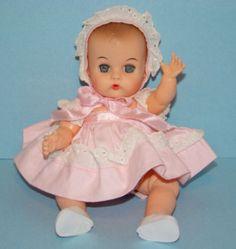 Vogue Ginnette Baby vintage doll 1958