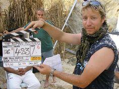 Roman Mysteries clapper board guy Danny in Tunisia, Sept 2006. https://itunes.apple.com/gb/tv-season/roman-mysteries-series-1/id404814654?ign-mpt=uo%3D4