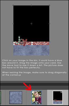 How to make a photoshop christmas card