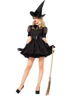 Results 241 - 300 of Find sexy Halloween costumes for women, men, and plus-size right here! Shop our selection for the best sexy Halloween costume ideas around! A revealing, sexy costume is sure to make your Halloween or cosplay event a memorable one. Witch Fancy Dress, Witch Dress, Witch Outfit, Halloween Fancy Dress, Adult Halloween, Halloween Party, Vintage Halloween, Halloween 2014, Couple Halloween