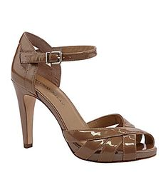 Antonio Melani Calista AnkleStrap Sandals #Dillards---- I really like these!!!  In the rice color