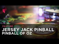Jersey Jack Pinball: The Pinball of Oz - this looks sweet!