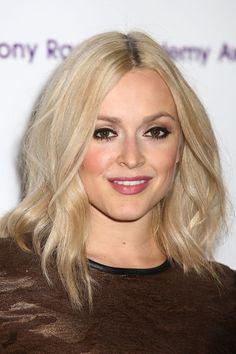 Fern Cotton mid length blonde hair - love!