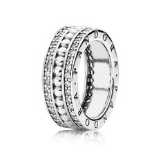 Forever Pandora Ring - Sterling Silver with Clear CZ - PANDORA - 190962CZ