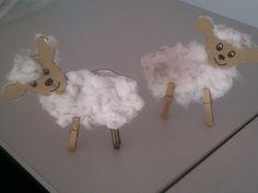 El resultado: unas simpáticas ovejitas