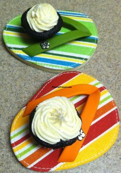 #Cupcake #Sandals are a great #idea for a #party.  #food #foodie #eat #meal #dish
