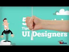 Five Essential Tips for #UIDesigners #WebDesign #Singapore