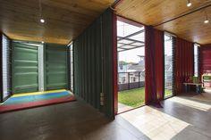 Galeria de Contêiner para a vida urbana / Atelier Riri - 6