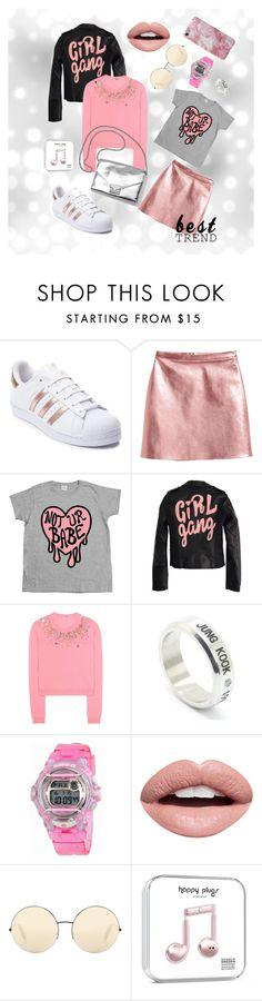 """Pink"" by denis-luka on Polyvore featuring мода, adidas, High Heels Suicide, Miu Miu, Loeffler Randall, LØMO, Casio, Nevermind и Victoria Beckham"