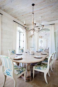 White Carribean Dining Room