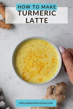 Learn How to Make a Turmeric Latte Recipe that is easy to make, healthy, and delicious. Paleo, vegan and gluten free - this golden milk recipe is a must try!