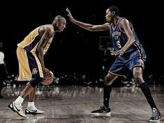 2 NBA iconen.