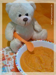 Hokkaido-Kartoffel-Brei mit Orangensaft