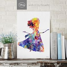 Princess Merida Disney Wall Art - Poster Α3