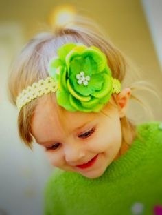 Grandpa Steve (my dad) would love this!  Hey, I found this really awesome Etsy listing at https://www.etsy.com/listing/169995485/pretty-headband-lime-baby-headband