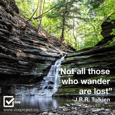 Not all those who wander are lost | Vive