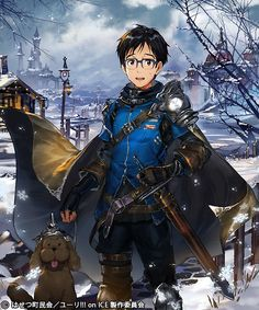 """Figure Skating and Fantasy Collide in """"Yuri!!! on ICE"""" x """"Rage of Bahamut"""" Collaboration"""