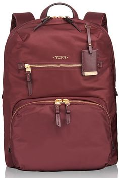 Tumi Voyageur Merlot Halle Backpack  ON SALE: Was $295.00 Reduced to: $221.25  25% OFF