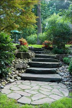 Stone Steps - built by Gasper