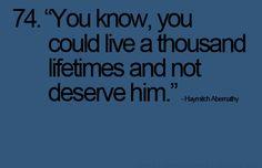 im convinced Haymitch is secretly a hopeless romantic ;)