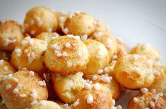 Chouquettes / A classic French cream puff recipe.