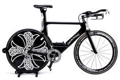 CHROME HEARTS edition Cervélo P4 TT bicycle