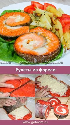 Recipe with photo # cheese # trout # rsm … – Shellfish Recipes Greek Recipes, Keto Recipes, Cooking Recipes, Shellfish Recipes, Fish Salad, Cooking Chef, Fish Dishes, Saveur, Fish And Seafood