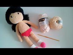 Muñeca a ganchillo/crochet (Parte 1) - YouTube
