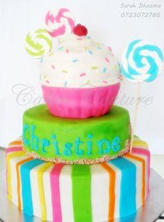 candy theme cake