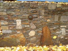 Possibly My All-Time Favorite Retaining Wall by Rozanne, via Flickr
