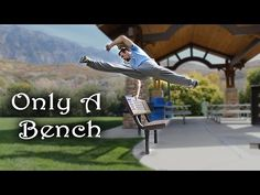 ▶ Only a Bench - Simple Object Parkour Training - YouTube <-This looks familiar! (benches are awesome for training)