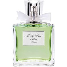 Dior Dior 'Miss Dior Cherie' L'Eau Eau de Toilette Spray No Color 3.4... (€76) ❤ liked on Polyvore featuring beauty products, fragrance, perfume, fillers, makeup, green, green fillers, women, christian dior and christian dior fragrance