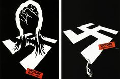 Anti-War Posters by Graphic Designer Shigeo Fukuda Earth Day Posters, Peace Poster, Protest Art, Political Posters, How To Make Toys, Powerful Images, Happy Earth, Japanese Graphic Design, Logo Images