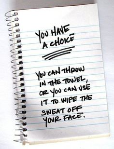 You have the choice!