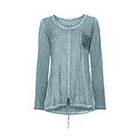 Basic Shirt mit Brusttasche, fresh mint