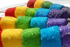 Marshmallows rolled in coloured sugar. Glorious!                                                       Click here to download    ...