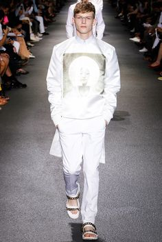 Givenchy Spring 2013 Menswear Fashion Show