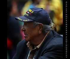 Native World War II Veteran by ashockenberry, via Flickr