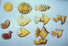 Жайворонки булочки схеми