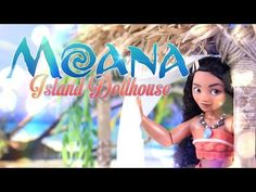 DIY - How to Make: Disney Moana Dollhouse - Handmade - Doll - Craft - 4K - YouTube