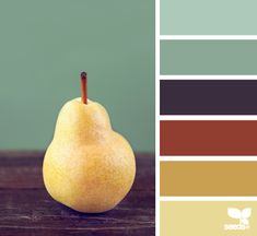 pear tones color palette from Design Seeds Colour Pallette, Colour Schemes, Color Patterns, Color Combos, Color Palate, Design Seeds, Color Swatches, Color Stories, Color Theory