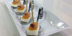 Bocaditos de queso brie y ate de guayabas   Unicable
