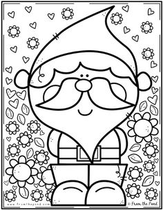 Coloring Club Library — From the Pond Preschool Christmas, Christmas Activities, Christmas Crafts For Kids, Christmas Printables, Christmas Colors, Christmas Art, Christmas Themes, Preschool Coloring Pages, Colouring Pages