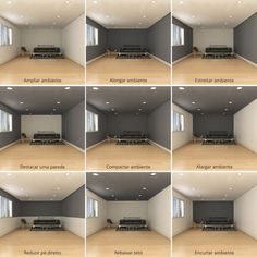 Dark room colors and lively wall color. - Dark room colors and lively wall color. Visually changed interior dimensions – dark room colors a - Home Renovation, Home Remodeling, Kitchen Remodeling, Basement Renovations, Interior Design Living Room, Living Room Decor, Interior Wall Colors, Interior Design Tips, Office Paint Colors